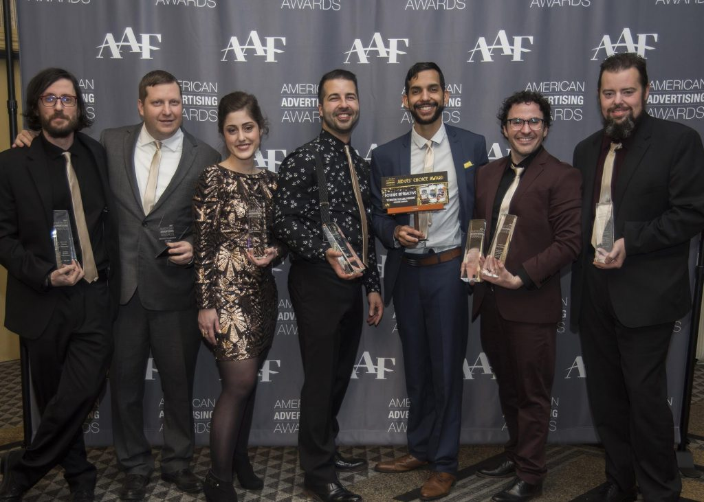 Posture Interactive - American Advertising Awards - AAF Scranton Addys 2018