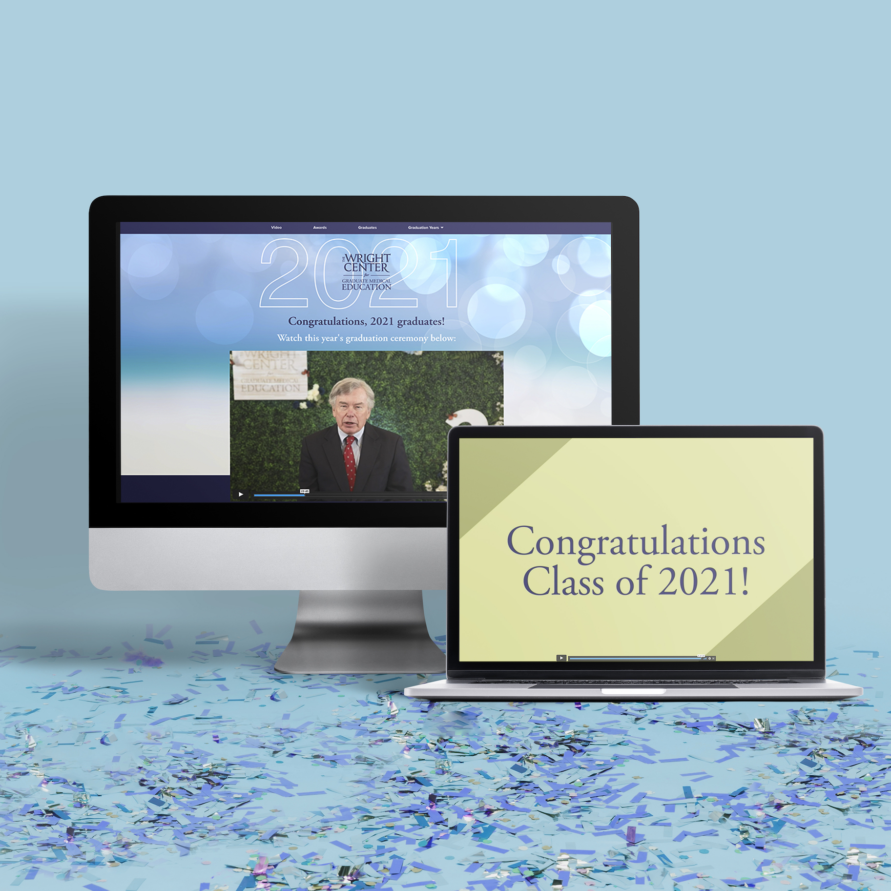 The Wright Center Virtual Graduation 2021
